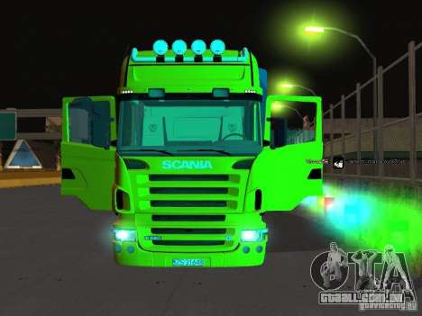 Scania R620 para vista lateral GTA San Andreas