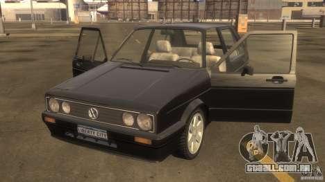 Volkswagen Golf para GTA 4 esquerda vista