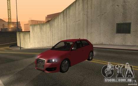 Audi S3 Tunable para GTA San Andreas vista direita