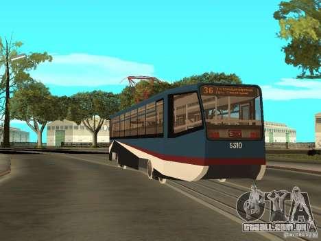 O novo bonde para GTA San Andreas sexta tela