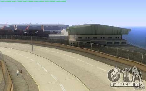 Estradas concretas de Los Santos Beta para GTA San Andreas