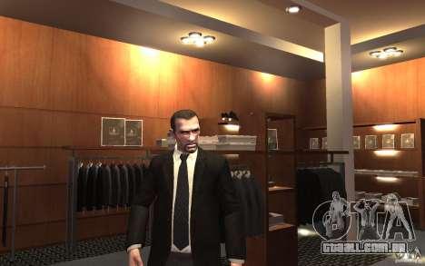 Jaquetas abertas com laços para GTA 4 sexto tela