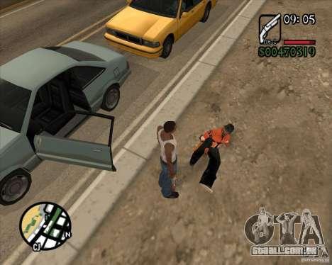 Endorphin Mod v.3 para GTA San Andreas quinto tela