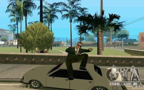 Black MIB para GTA San Andreas segunda tela