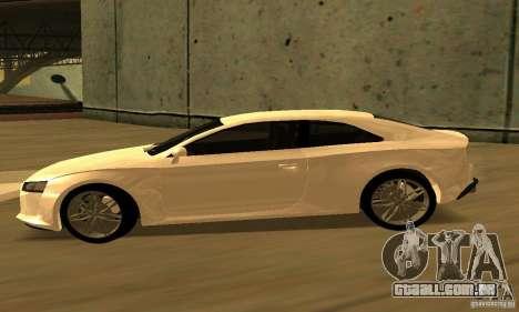 Audi Quattro Concept 2013 para GTA San Andreas traseira esquerda vista