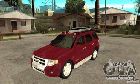 Ford Escape 2009 para GTA San Andreas