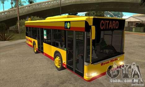 Mercedes-Benz Citaro K para GTA San Andreas vista traseira