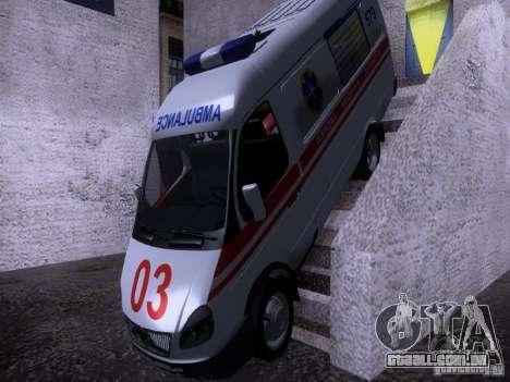 Ambulância de gazela 2705 para GTA San Andreas