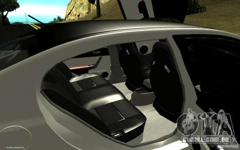 Honda Civic Type R para GTA San Andreas vista interior