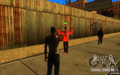 Grande visão para GTA San Andreas por diante tela