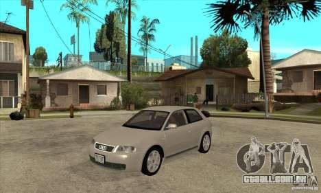 Audi S3 para GTA San Andreas