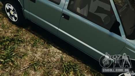 Chevrolet S-10 Colinas Cabine Dupla para GTA 4 vista inferior