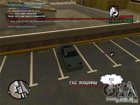 Dirigir seu carro em qualquer lugar para GTA San Andreas