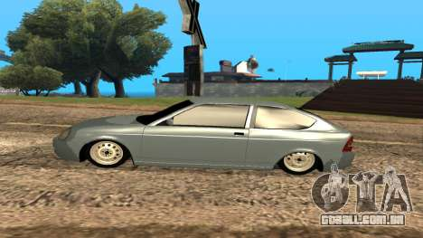 LADA Priora 2172 para as rodas de GTA San Andreas