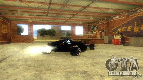 Lamborghini Concept para GTA San Andreas vista direita
