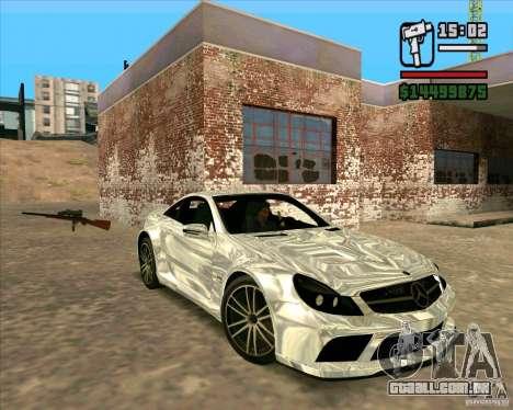 Mercedes-Benz SL65 AMG Black Series para GTA San Andreas esquerda vista