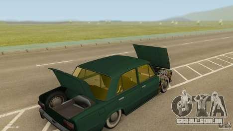Baixo 2101 VAZ & Classic para GTA San Andreas vista interior