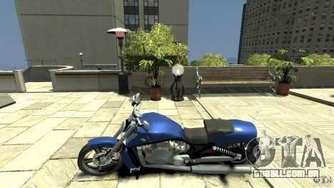 Harley Davidson VRSCF V-Rod para GTA 4 esquerda vista