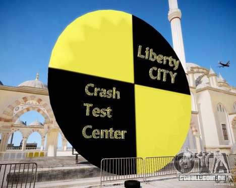 LC Crash Test Center para GTA 4 segundo screenshot