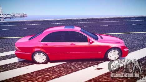 Mercedes-Benz S600 para GTA 4 vista de volta