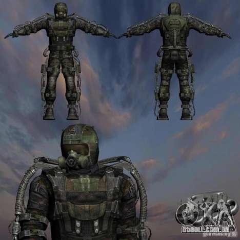 Perseguidor militar em èkzoskelete para GTA San Andreas