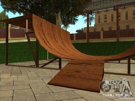 Mapa de Parkour e bmx para GTA San Andreas décimo tela