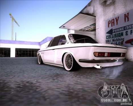 BMW 3.0 CSL Stunning 1971 para GTA San Andreas vista direita