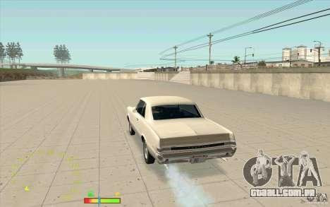Calibre de combustível e velocímetro para GTA San Andreas