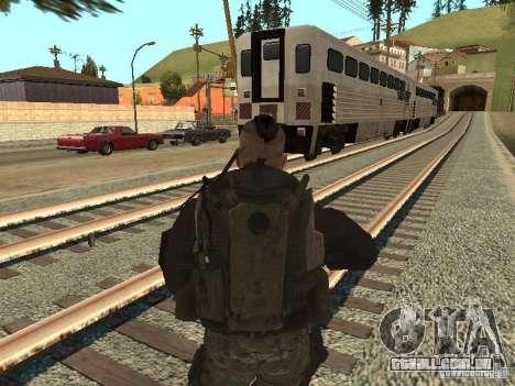 Captain MacTavish para GTA San Andreas terceira tela