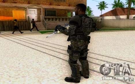 Salazar de CoD: BO2 para GTA San Andreas terceira tela