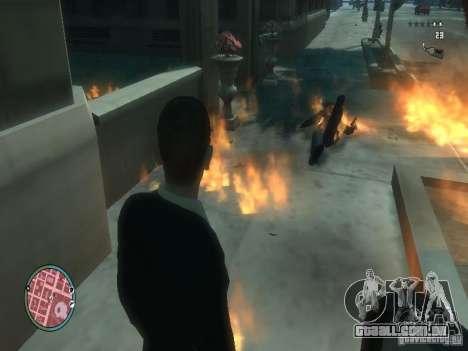 Intense Fire Mod para GTA 4 terceira tela