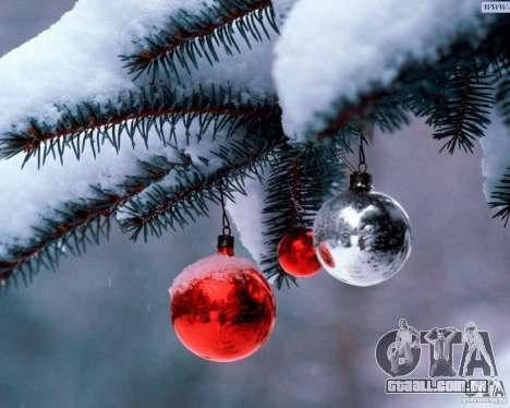 Natal bota clip-art para GTA San Andreas sexta tela