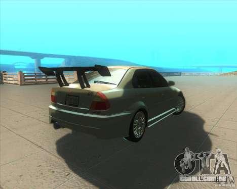 Mitsubishi Lancer Evolution VI 1999 Tunable para GTA San Andreas