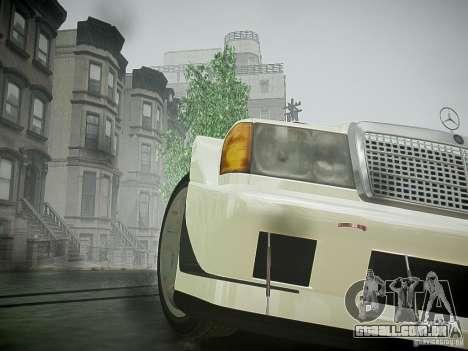 Mercedes 190E Evo2 para GTA 4 vista de volta