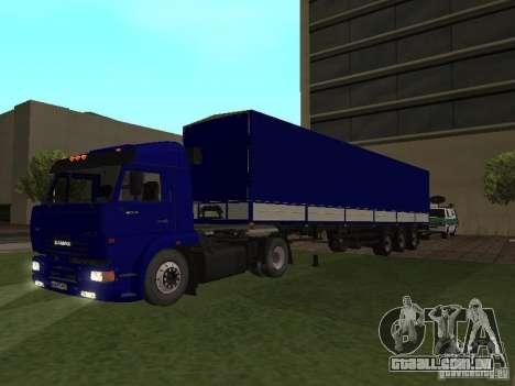 Reboque de motoristas de caminhão da série para GTA San Andreas
