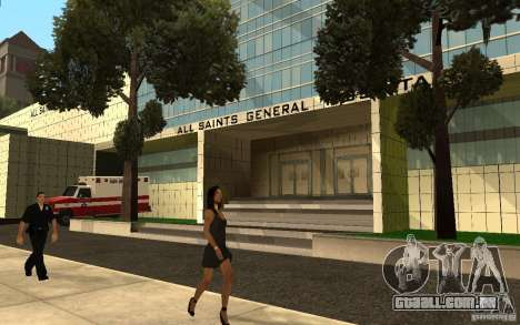 UGP Moscow New General Hospital para GTA San Andreas segunda tela
