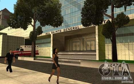 UGP Moscow New General Hospital para GTA San Andreas segunda tela