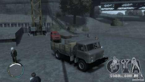 GAZ 66 para GTA 4 esquerda vista