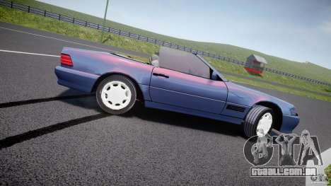 Mercedes-Benz SL500 para GTA 4 esquerda vista