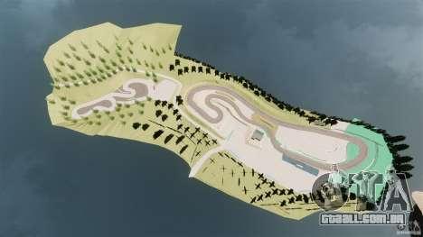 Ebisu Circuit para GTA 4 sétima tela