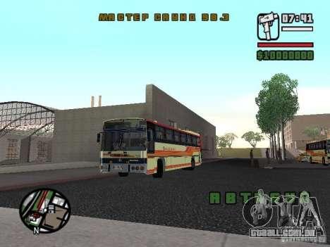 MARCOPOLO III SCANIA 112 para GTA San Andreas esquerda vista