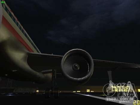 Airbus A320 para vista lateral GTA San Andreas