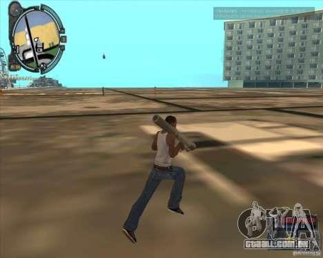 S.T.A.L.K.E.R. Call of Pripyat HUD for SA v1.0 para GTA San Andreas sexta tela