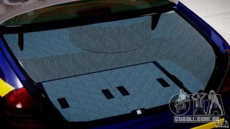 Ford Crown Victoria New York State Patrol [ELS] para GTA 4 vista lateral