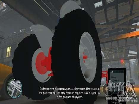 Ford 8N para GTA 4 vista interior