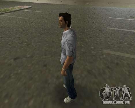 Camisa cinza para GTA Vice City segunda tela