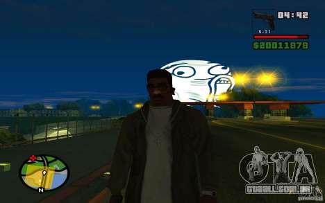 Lol Guy no céu para GTA San Andreas terceira tela