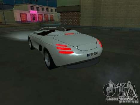 Ford Mustang 1993 para GTA San Andreas traseira esquerda vista