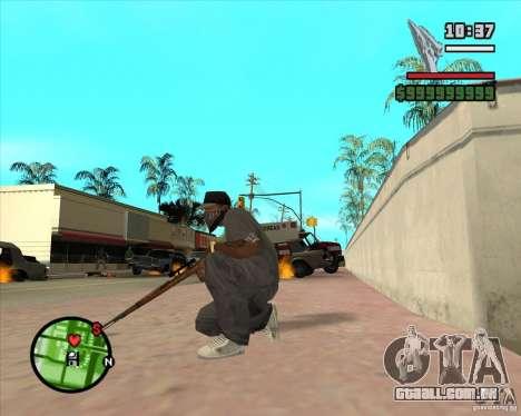 K98 para GTA San Andreas terceira tela