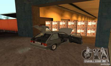 2113 Vaz Suite v. 1.0 para vista lateral GTA San Andreas
